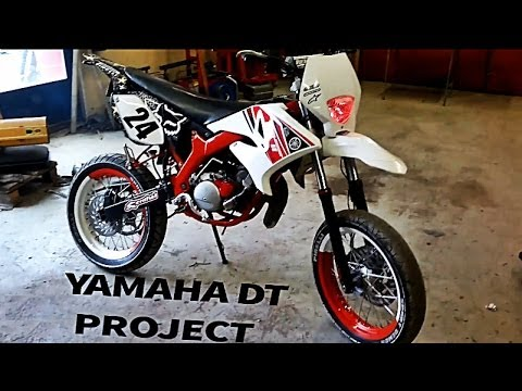 Yamaha DT 50 Tuning Finland by Jessdd