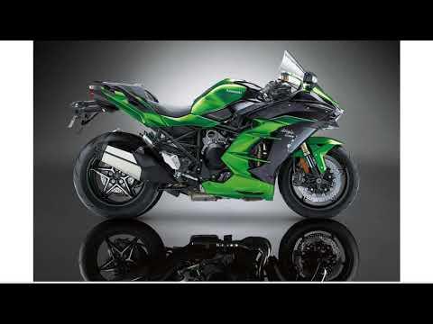 Kawasaki Ninja H2 SX 2018とNinja H2 2015のシルエット比較