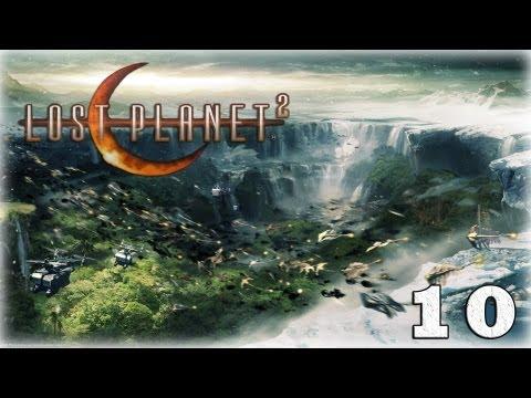 Смотреть прохождение игры [Coop] Lost Planet 2. Серия 10 - Штурм, оборона и дайвинг.
