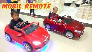 Balita Lucu Rex Naik Mobil Mobilan Remote