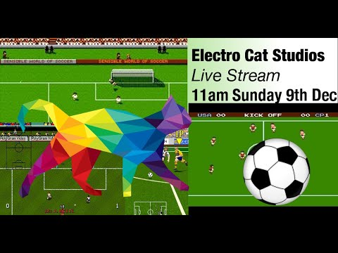 Live Coding Javascript - Making A Soccer Video Game | Electro Cat Studios