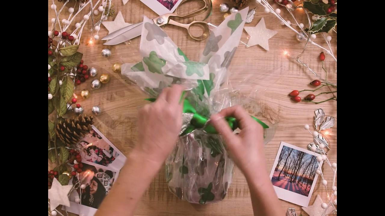 How To Wrap A Mug For Christmas