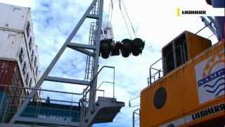 Liebherr LHM Mobile Harbour Cranes - General Cargo Handling
