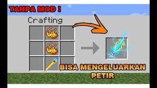 CARA MEMBUAT PEDANG PETIR PALING MEMATIKAN DI MINECRAFT !! - Minecraft Indonesia !!