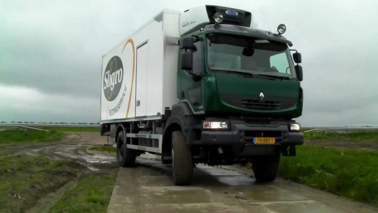 Peter Appel Transport Renault Kerax 4x4 Sligro - YouTube
