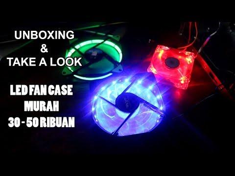 #Unboxing LED Fan Case LOW BUDGET 30-50 Ribuan | Beda Brand, Beda Design - RGB Colors