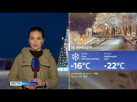 Видео В Ярославль пришло потепление, но надолго ли?