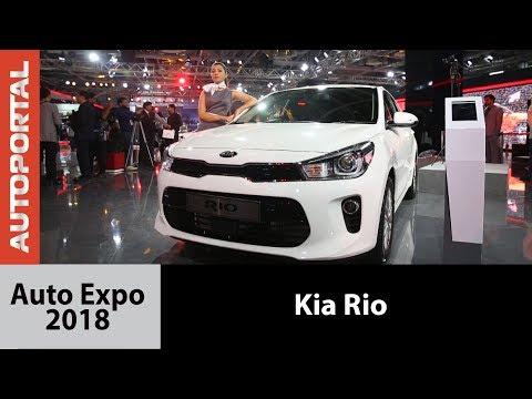 Kia Rio at Auto Expo 2018 - Autoportal