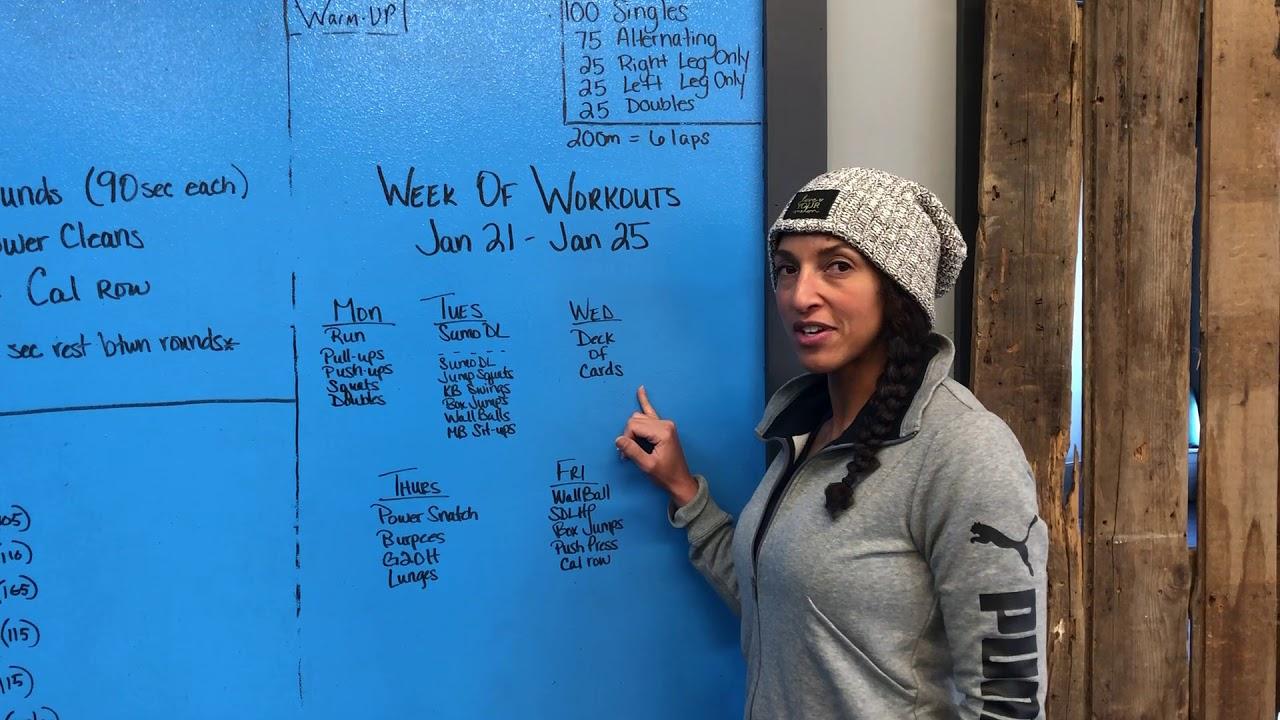 CPM Week of Workouts Jan 21 - Jan 25 — CPM Fitness