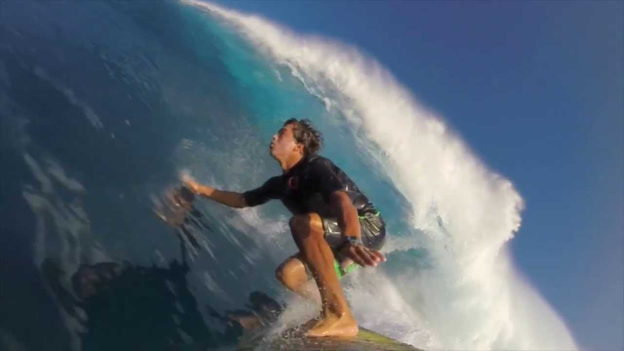 what it feels like to surf jaws with kai lenny