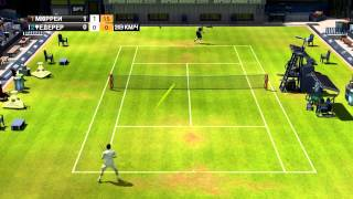 virtua tennis 2009. Andy Murray vs Roger Federer.Wimbeldon