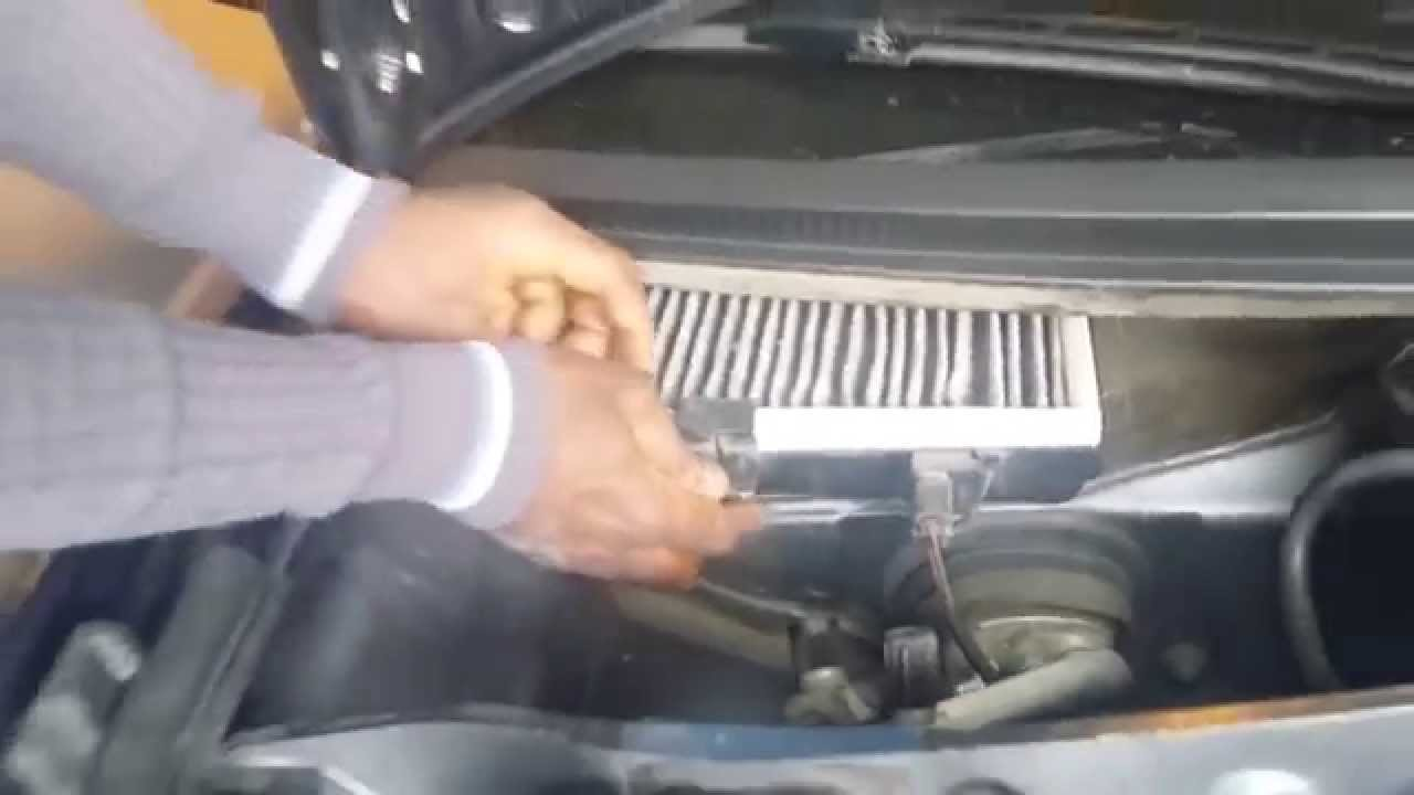 changing pollen cabin filter on audi a6 2003 avant youtube. Black Bedroom Furniture Sets. Home Design Ideas