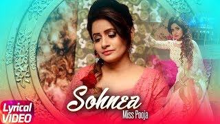 Gambar cover Sohnea (Lyrical Song) | Miss Pooja Feat. Millind Gaba | Punjabi Lyrical Songs | Speed Records