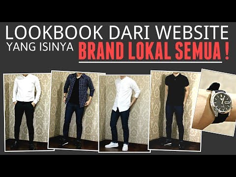 LOOKBOOK WEBSITE ISINYA BRAND LOKAL SEMUA !! | LookBook 5 Item Keren Dari Maskoolin.com