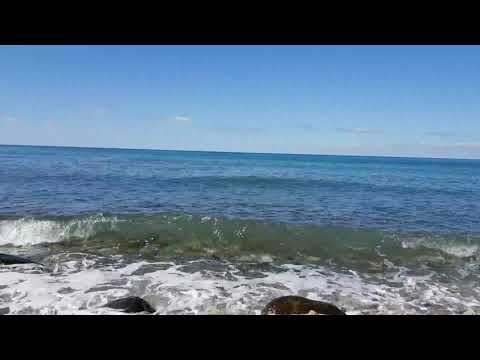 Шум моря и промелькнувшие дельфины - для релакса! Пляж \