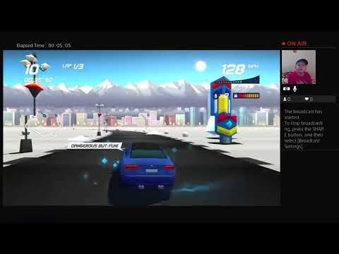 LETS PLAY: horizon chase turbo in a storm |