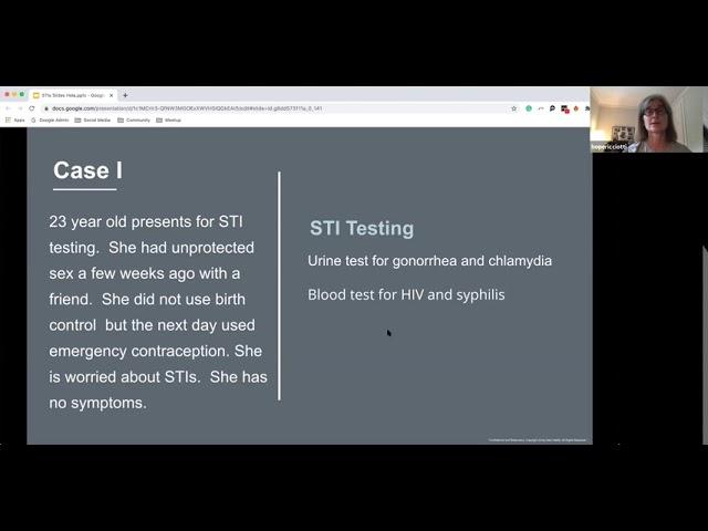 STI Testing 101