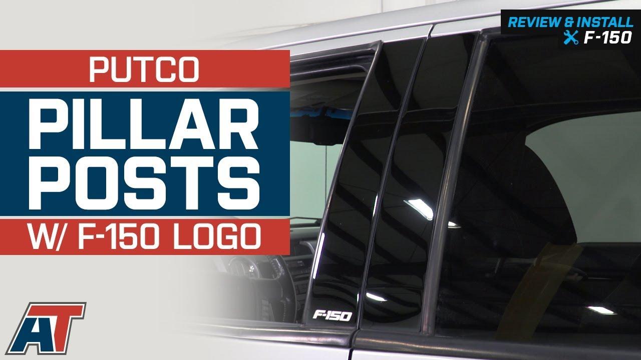 Putco 402601BPFD Black Platinum Classic Pillar Posts for F-150 Crew Cab