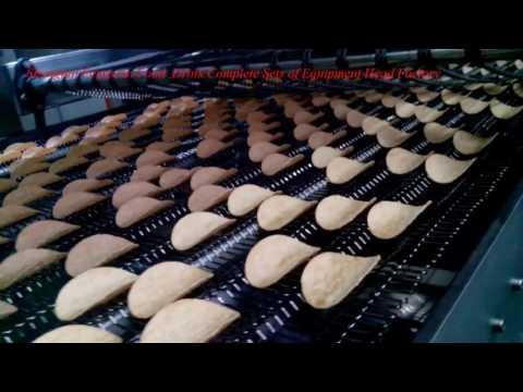 Feng xian potato chips product line