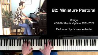 B:2 Miniature pastoral (ABRSM Grade 4 piano 2021-2022)