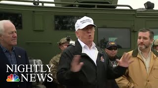 President Donald Trump Visits Southern Border To Push For Proposed Border Wall | NBC Nightly News