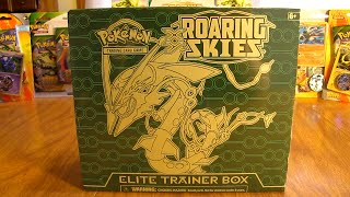Mega Rayquaza Roaring Skies Elite Trainer Box Opening