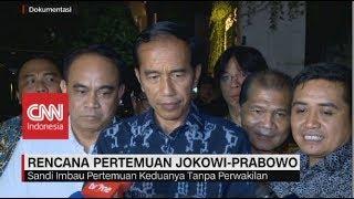 Rencana Pertemuan Jokowi-Prabowo, Ma'ruf: Bangsa Ini Harus Dijaga, Jangan Sampai Ada Konflik
