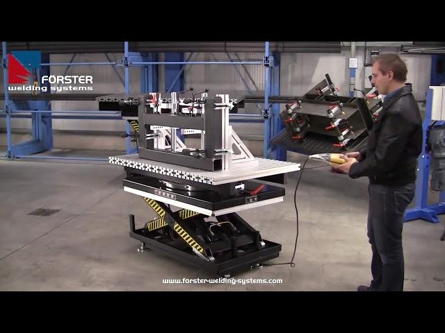 Hub Tisch -X Pro Lift&Turn