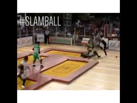 slamball funny moment