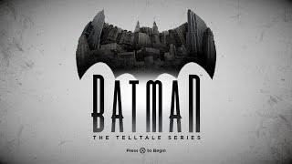 Batman: The Telltale Series - Gameplay Walkthrough - Episode 1: Realm of Shadows | Twitch Livestream