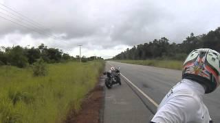 cbr 1000 pasando a 300km pvh