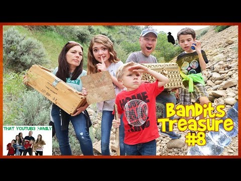 TWO TREASURES! Bandits After Us! The Bandits Treasure Part 8  That YouTub3 Family