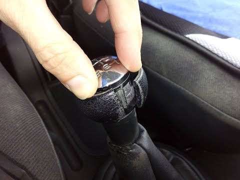 Citroen C3 gear stick knobe fix