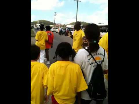 Commonwealth Games Queen's Baton Antigua