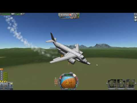 KSP: Stock VTOL's with Rotating Engines