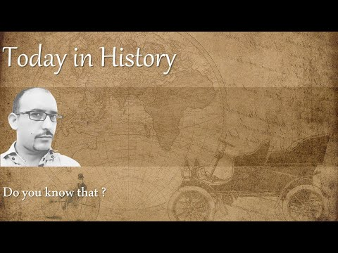 Today in History: Playlist | AV EduTech - an Education & Technology channel
