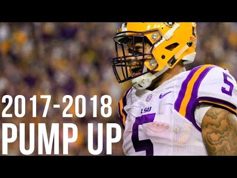 """2017-2018 College Football Pump Up 