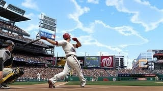 MLB 13 The Show: Washington Nationals Franchise (Fantasy Draft) vs Colorado by JunkGamingVideos
