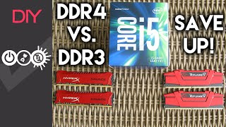 Curious Geek - Skylake DDR4 vs DDR3 performance difference (Intel i5 6400)