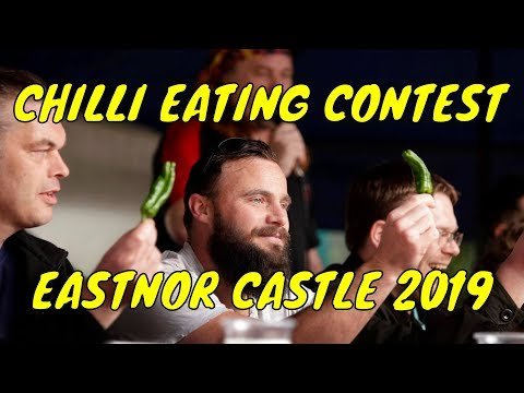 Chilli Eating Contest - Eastnor Castle - Sunday 5th May 2019