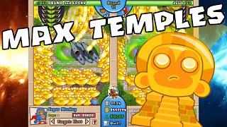BTD Battles - 61 Temples on Mega Boosts