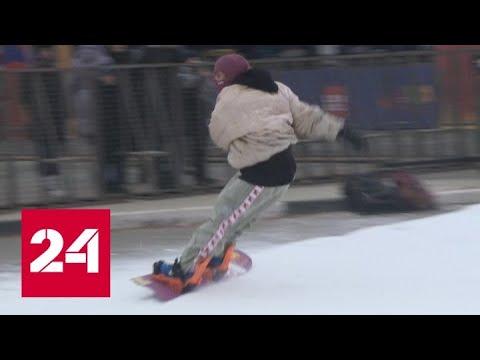 Новогодняя столица: в Рязани начался фестиваль музыки и спорта - Россия 24