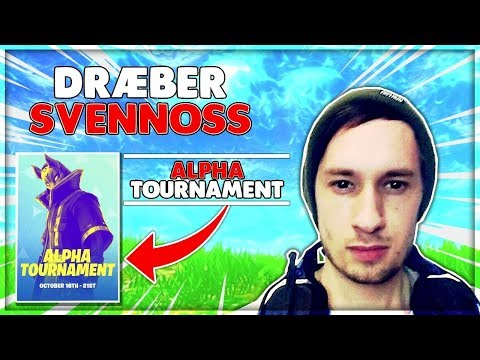 DRÆBER SVENNOSS (APLHA TOURNAMENT) | Danske Fortnite Highlights #247