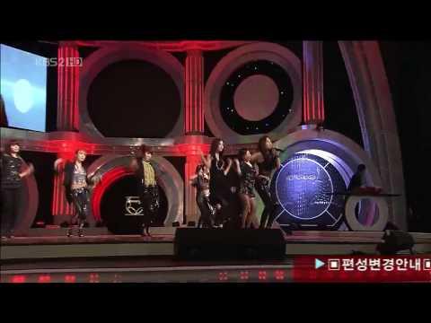 Girls Generation (SNSD- 소녀시대) Run Devil Run live @ The 46th Baeksang Awards (Mar. 26,2010)