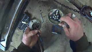 На прицепе не горят габариты,ремонт проводки