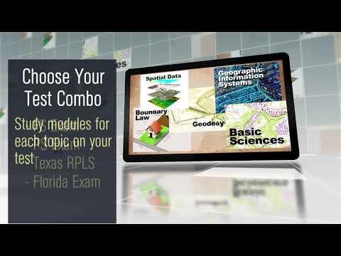 Texas RPLS – NLC LAND SURVEYOR PREP COURSES   FS, PS, TX RPLS, FL PSM