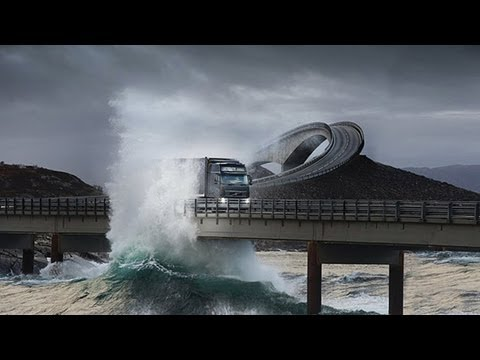 World's Most Amazing Road Trip - Atlantic Road in Norway