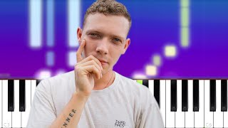 Matt Maeson - Me And My Friends Are Lonely (Piano Tutorial)