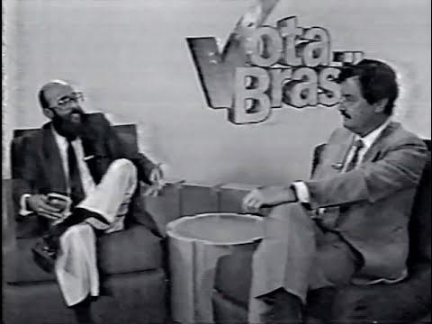 Entrevista Dr. Enéas - Vota Brasil - Apuração 1989 - TV Manchete
