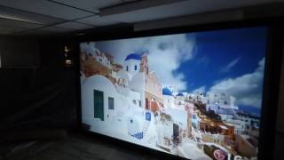 CRYSTAL EDGE PLATINUM 4K CINEMA SCREENS 4K AND 3D READY SEE WHAT AMAZING COLOR LOOK LIKE!